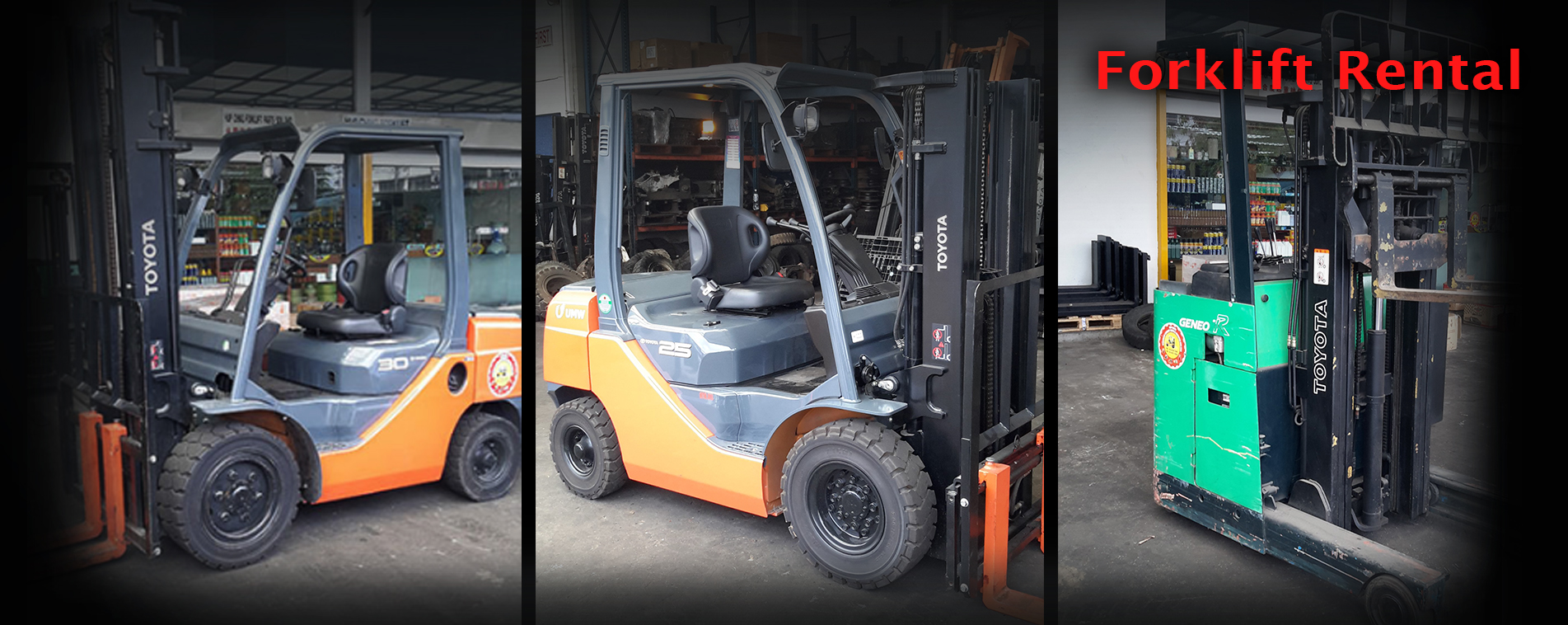 HUP CHING FORKLIFT